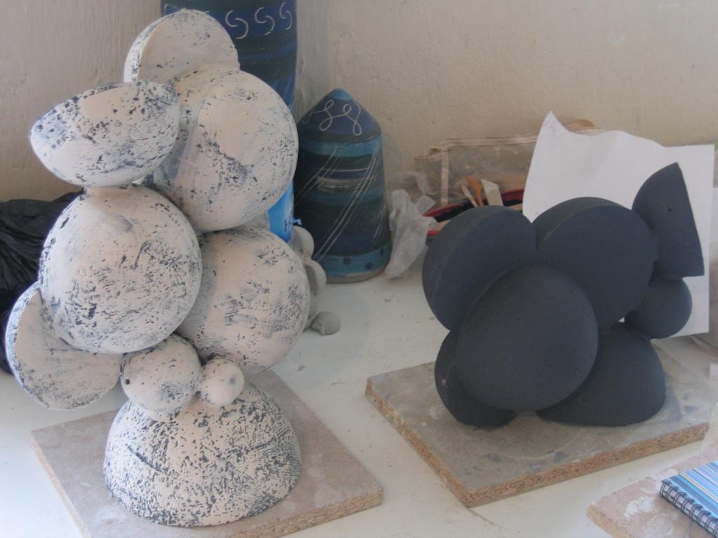 Engobe décor scraphite