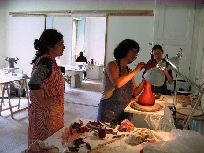 Stage céramique - l'atelier