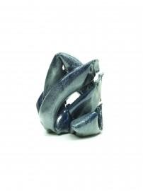 Arlette Simon Percer bleue argentée